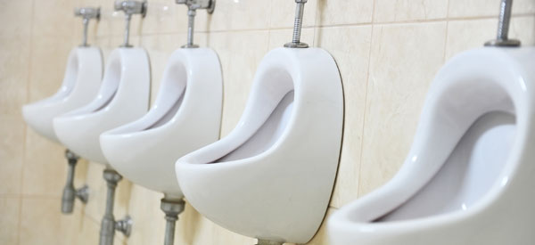 urinal odor and slow running treatment