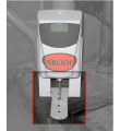 Mounting system for the Bac-Treet Dispenser