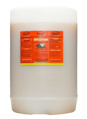 Brozyme Bacterial Liquid Enzyme Treatment For Grease Traps