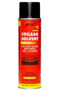 Solvent-based non-rinse coil cleaner