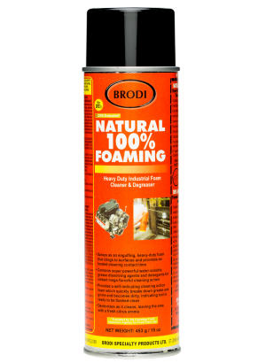 Natural 100% Foaming