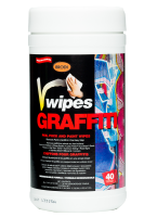 Pen, Puck and Graffiti Paint Wipes