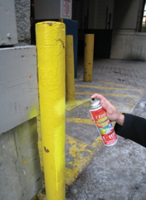 Loading Dock Safety Post