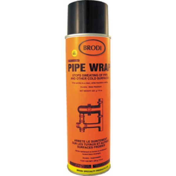 Pipewrap, Anti-Sweat Cold Pipe Spray-on Insulating Coating