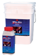 For Cleanup and Solidification of Water Based Spills