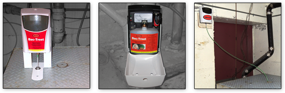 modular and convenient grease trap/sump pit automated treatments