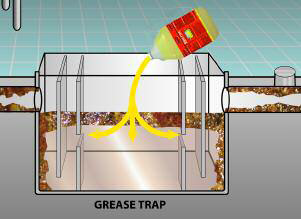 Bro-treet for Grease traps maintenance