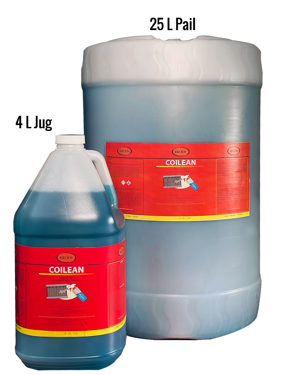 Powerful yet safe. This non-acid non-rinse coil cleaner is for larger units. Safely and quickly removes dirt, grease and grime from HVAC units. Forheavy-duty applications likelarger roof-top units andair handling units