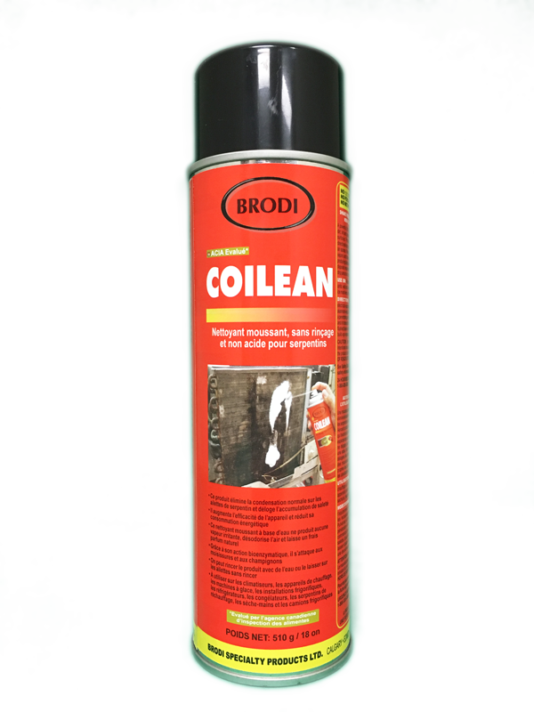 Spray on Coil Cleaner for HVAC AC Units